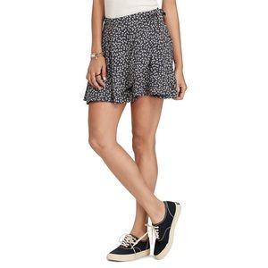 Denim & Supply Ralph Lauren Floral Wrap Skirt